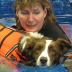 When Bob was a pup, visitors played too hard with Bob. With the results of his injuries, Hydro Therapy was needed to help Bob.