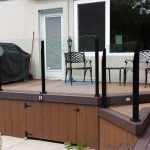 deck with border colour trim