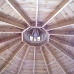 inside gazebo-ceiling pattern