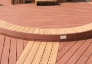 curved patterned deck
